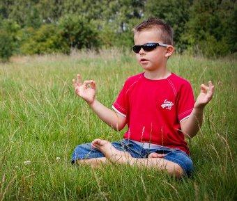 meditation kid